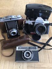 Vintage Kamera Praktica TL2 Pentacon 1,8 50mm Agfa Isomat Rapid spiegelreflex 60