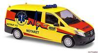 H0 Mercedes Vito Millich Ambulanz Rettungsdienst Rostock 1:87 Busch 51115 Neu