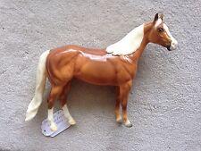 Breyer Peter Stone Ideal Stock Horse Ish Bayou De Oro Glossy Palomino Ginger Sr