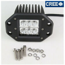 18W 6LED Cree-chip LED Work Driving Spot Beam Light Bar Offroad Truck 4WD SUV 1X
