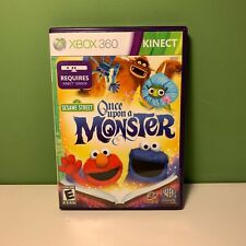 Xbox 360 : Sesame Street: Once Upon A Monster - Complete