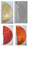 1 Large Lame Angel's Wing Flag w Pole - Many color to choose Worship Dance