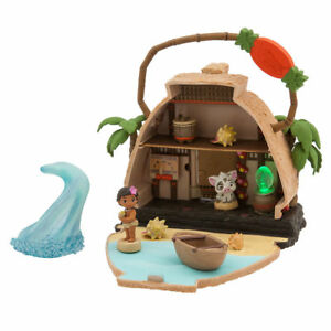 Authentic Disney Animators Littles Motunui Island Surprise Playset - Moana New