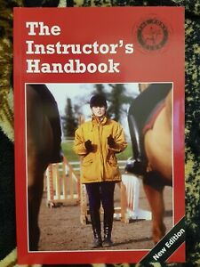 NEW ** THE INSTRUCTORS HANDBOOK **THE PONY CLUB BOOK **RRP £18.99 HORSE RIDING