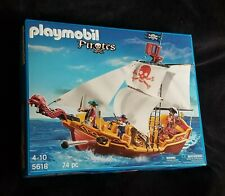 RED SERPENT PIRATE SHIP Playmobil Pirates 5618 74 PCS.