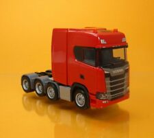 Herpa 308601 Scania CS 20 HD Schwerlastzugmaschine 4achs rot Scale 1 87 NEU OVP