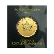 2020 Gold Maple 1 Gram Royal Canadian Mint Coin 24KT .9999 In Assay Like Bar
