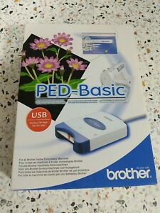 NEW Brother PED Basic Embroidery Design Transfer Box Card Designs