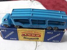 Vintage Matchbox A-2 Bedford Car Transporter. A Moko Lesney product.