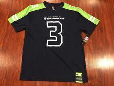 Majestic Men's Russell Wilson Seattle Seahawks Hashmark Jersey Medium M NFL