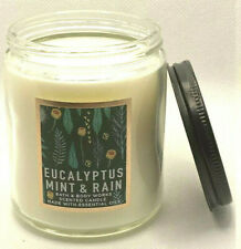 1 BATH & BODY WORKS SCENTED CANDLE EUCALYPTUS MINT & RAIN 7 OZ NEW