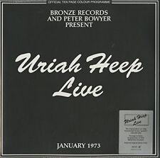 Uriah Heep : Live 1973 Vinyl (2017) ***NEW***