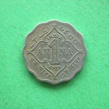 1927 India 1 Anna SNo43841