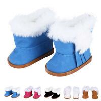 Zubehör für Puppen Kinder 18 Inch Doll Mini Schuhe Snow Boots Plüsch Schuhe