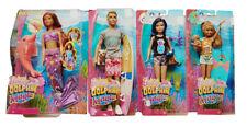 Barbie magia de la delfines muñecas con fantásticos accesorios 24cm medalla ken Skipper nuevo