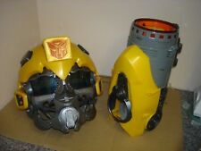 Bumblebee Voice Changing Helmet & Electronic Plasma Cannon cosplay  fancy dress