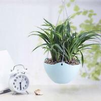 Hanging Flower Succulents Pot Chain Plant Planter Basket Garden-Plastic Use