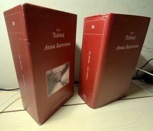 ANNA KARENINA Tolstoj 2004 LA BIBLIOTECA DI REPUBBLICA Bori Salmon