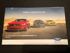 2015 FORD MUSTANG PROMO MAILER (in Spanish)