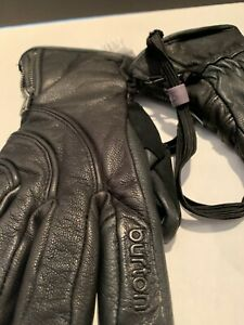 Burton touch tec leather gloves