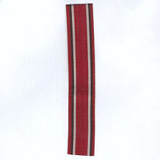 GERMANY, PRUSSIA. Ribbon for the Medal of Honour of the Prussian Red Cross