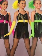 Dance Costume Jazz Tap Pageant Child Sizes Art Stone Razzmatazz