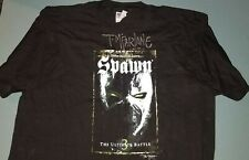 TODD McFARLANE signed SPAWN t shirt in person AUTOGRAPH IMAGE COMICS promo HBO