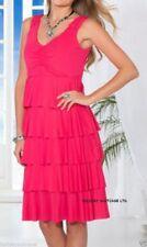 Polyester Plus Size Sleeveless Summer/Beach Dresses for Women