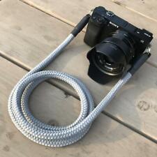Kameragurt grau - Kamera Seil Kameraband Tragegurt für DSLR Camera Strap grey