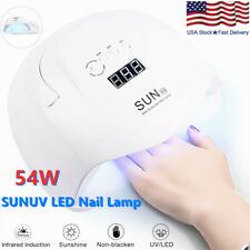 Sunuv 54W Sunxs Professional Led Uv Nail Lamp Dryer Curing Gel Electric Manicure