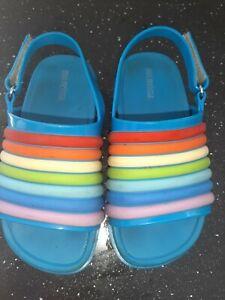 Girls Mini Melissa Rainbow Sandels Eur27