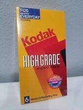 New listing Kodak T-120 Video Cassette Hs High Standard - New And Sealed