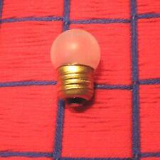 SAFETY NIGHT LIGHT BULB 7&1/2 WATT S11 regular US standard medium E26 base 7.5w