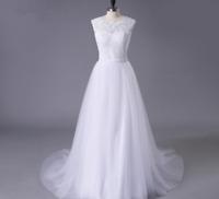 Luxus Spitze Brautkleid Hochzeitskleid Kleid Braut  Babycat collection BC609W 36