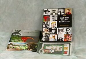 2010 US Commemorative Stamp Set Collection USPS Year Book With unopened stamps