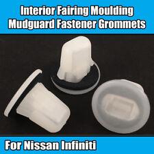 10x Clips for Nissan Mudguard Interior Fairing Moulding Grommet 01553-02923