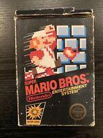 Super Mario Bros. (Nintendo NES) 5 Screw Hangtab CIB, Circle SOQ, Non Rev-A