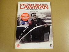 2-DISC DVD BOX / LAWMAN - SEIZOEN 2 ( STEVEN SEAGAL )