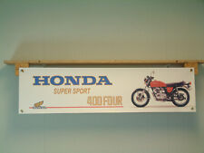 Honda CB400 400 FOUR Banner Super Sport Motorcycle Show Garage Workshop Display