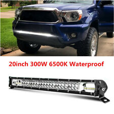 2-Row 20inch LED Work Light Bar Flood Spot Combo Driving Lamp Offroad Truck SUV