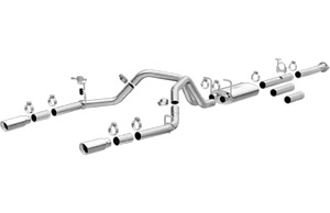 Magnaflow SS Cat-Back Exhaust for 11-18 GMC Sierra 2500/3500 HD 6.0L