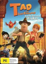 TAD AND THE LOST EXPLORER DVD, NEW & SEALED, 2018 RELEASE, R4, FREE POST