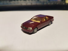1:87 Mercedes-Benz S-Klasse 600 SEC W140 red - herpa 021135