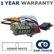 2X CANBUS WHITE H7 60 SMD LED DIP BEAM BULBS FOR PEUGEOT 206 207 208 307 308 508