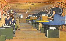 Dothan AL Napier Field Air Force Flying Airplane Training Curt Teich Postcard
