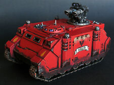 Pro painted Warhammer 40k Blood Angels Razorback miniature