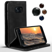 Étui Style Livre pour Samsung Galaxy S7 360 Degrés Etui Coque Complet Protection