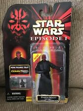Hasbro Star Wars Darth Maul Sith Lord With Lightsaber With Removable Blade...