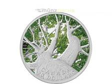 20 $ Dollar Canadien érable Canopy Spring Erable Canada 1 once PP argent 2013