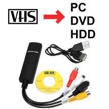 Videokassetten VHS auf DVD Konvertieren Digitalisieren USB-Adapter f. PC Laptop